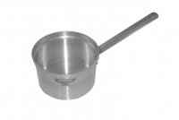 Sauce Pan Aluminium Professional with Long Handle Straight No18 2.7 liters Ninth Depiction