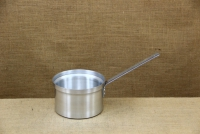 Sauce Pan Aluminium Professional with Long Handle Straight No18 2.7 liters Second Depiction