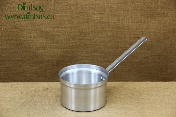 Sauce Pan Aluminium Professional with Long Handle Straight No18 2.7 liters