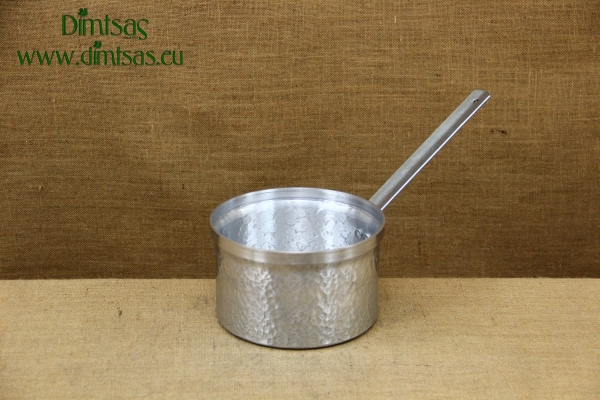Sauce Pan Aluminium Hammered with Long Handle No20 3.5 liters