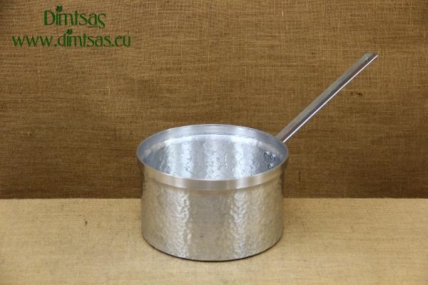 Sauce Pan Aluminium Hammered with Long Handle No26 7.4 liters