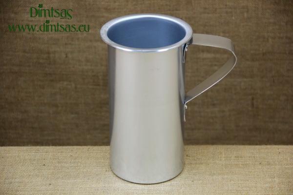 Aluminium Wine Jug Silver 2000 ml