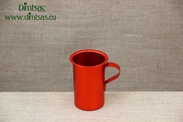Aluminium Wine Jug Red 2000 ml
