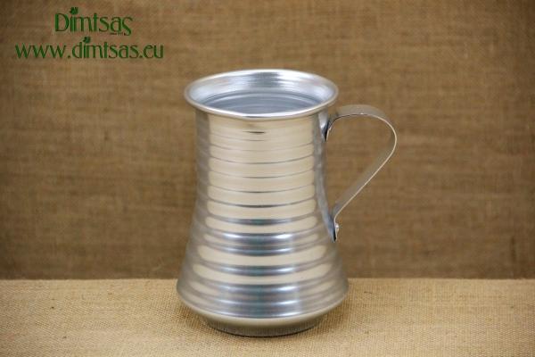 Κανατάκι Αλουμινίου Ασημί 1250 ml