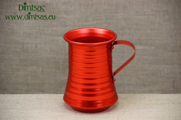 Aluminium Wine Pitcher Red 1250 ml