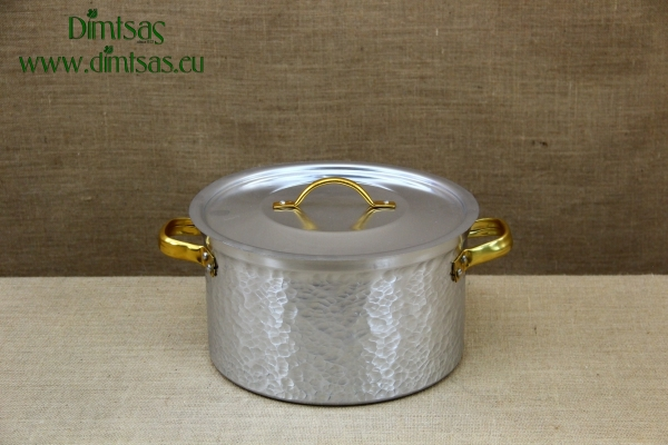 Aluminium Pot Hammered No60 88 liters