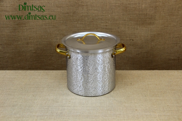 Aluminium Marmite Hammered No26 11 liters