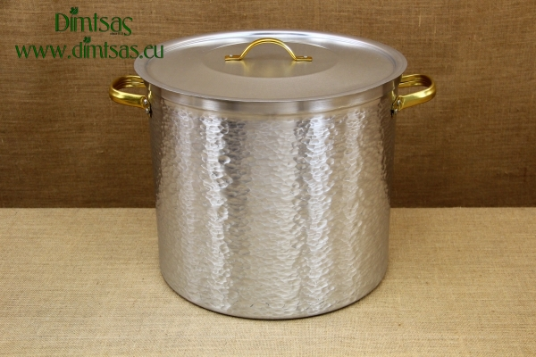 Aluminium Marmite Hammered No50 82 liters