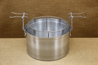 Aluminium Fryer Pot Professional No34 18 liters First Depiction