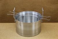 Aluminium Fryer Pot Professional No34 18 liters Second Depiction