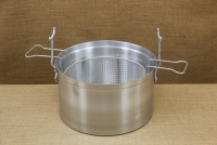 Aluminium Fryer Pot Professional No34 18 liters Fourth Depiction