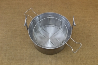 Aluminium Fryer Pot Professional No34 18 liters Eighth Depiction