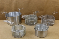 Aluminium Fryer Pot Professional No26 7 liters with Tinned Frying Basket Fourteenth Depiction