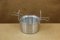 Aluminium Fryer Pot Professional No26 7 liters with Tinned Frying Basket First Depiction