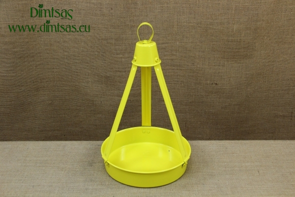 Aluminium Traditional Greek Coffee Tray No26 Yellow