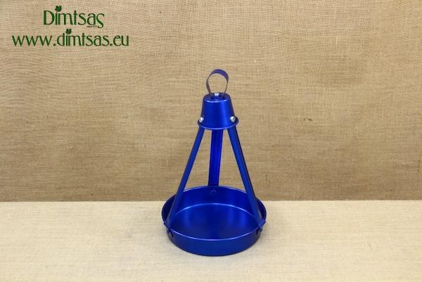 Aluminium Traditional Greek Coffee Tray No22 Anodized Blue