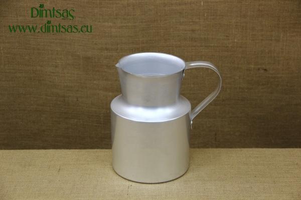 Aluminium Jug Silver 3.8 liters