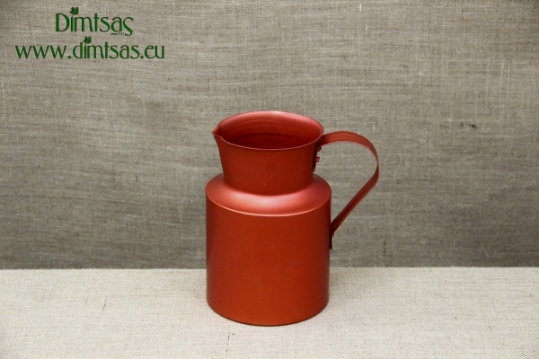 Aluminium Jug Red 3.8 liters
