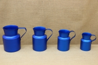 Aluminium Jug Blue 3.8 liters Fifth Depiction
