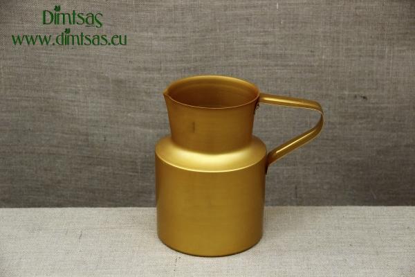 Aluminium Jug Gold 3.8 liters