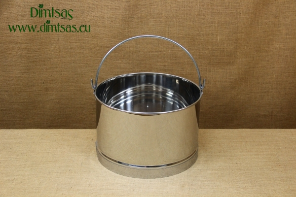 Stainless Steel Churn 38.5x24 22 liters