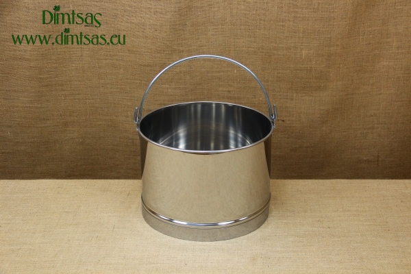 Stainless Steel Churn 35x23 18 liters