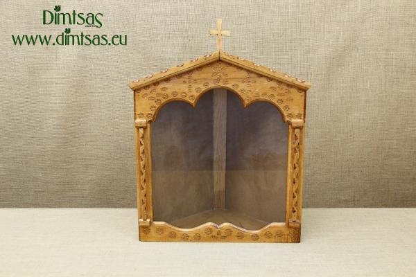 Wooden Home Altar Corner