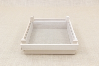 Sieve for Frumenty Wooden Square 34x34 cm with Holes 3x3 mm First Depiction