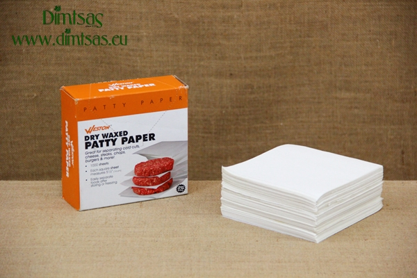 Dry Waxed Patty Paper