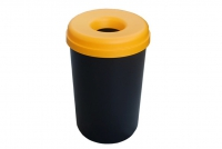 Recycle Bin Plastic with Yellow Lid 60 liters Fifteenth Depiction