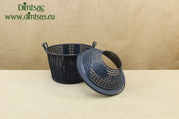 Plastic Basket for Demijohn 34 Liters with Wide Neck