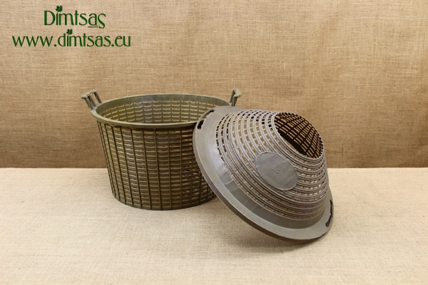 Plastic Basket for Demijohn 25 Liters with Wide Neck