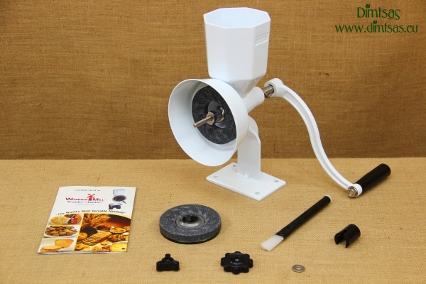 Hand Grain Mill Wonder Junior DeLuxe Pack No1
