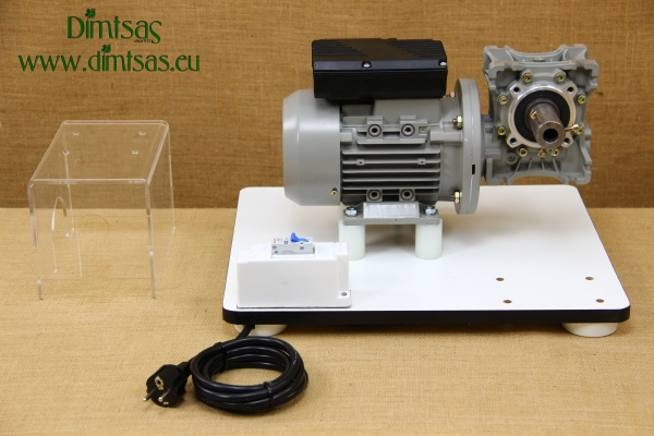 Kit with Motor & Reduction Gearbox for WonderMill Hand Grain Mill No3
