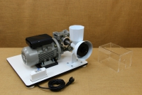 Kit with Motor & Reduction Gearbox for WonderMill Hand Grain Mill No4 Fifteenth Depiction