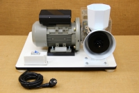 Kit with Motor & Reduction Gearbox for WonderMill Hand Grain Mill No4 Sixteenth Depiction