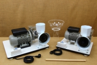 Kit with Motor & Reduction Gearbox for WonderMill Hand Grain Mill No4 Twenty-second Depiction
