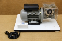 Kit with Motor & Reduction Gearbox for WonderMill Hand Grain Mill No4 Fourth Depiction