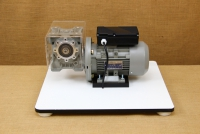 Kit with Motor & Reduction Gearbox for WonderMill Hand Grain Mill No4 Eighth Depiction