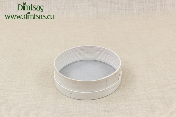 Sieve for Flour Wooden with Wire Screen 25 cm