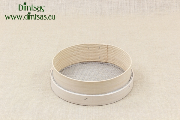 Sieve for Frumenty Wooden 25 cm with Holes 4x3.5 mm