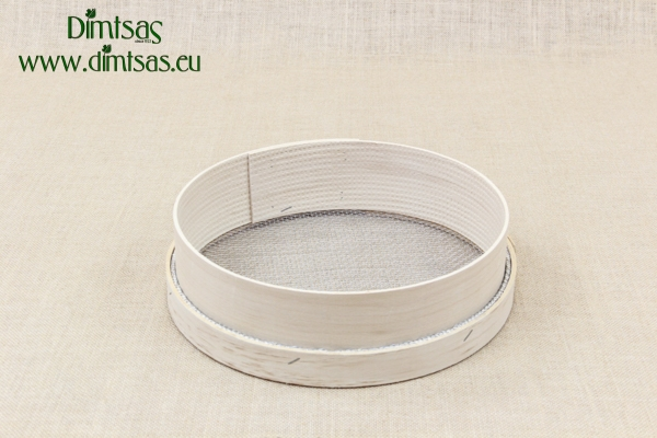 Sieve for Frumenty Wooden 29 cm with Holes 4x3.5 mm