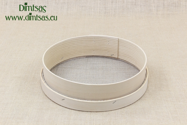 Sieve for Frumenty Wooden 31 cm with Holes 4x3.5 mm