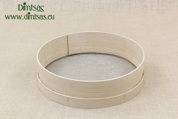Sieve for Frumenty Wooden 36 cm with Holes 4x3.5 mm