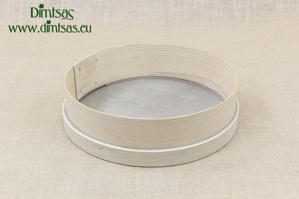 Sieve for Oregano Wooden 36 cm with Holes 2x1.5 mm