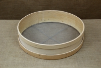 Sieve for Nuts Wooden 45 cm with Holes 3x3 mm First Depiction
