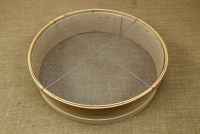 Sieve for Nuts Wooden 45 cm with Holes 3x3 mm Second Depiction