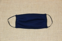 Face Mask Cotton Dark Blue Second Depiction