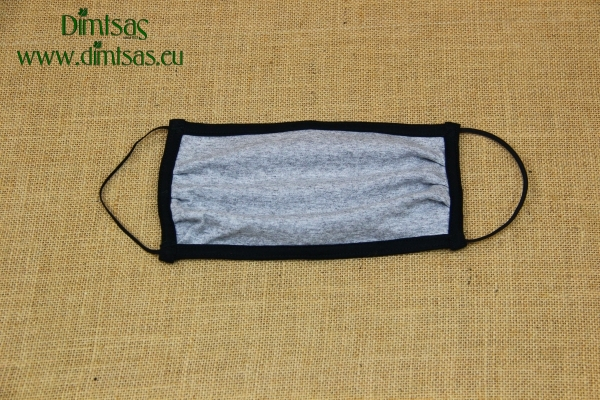 Face Mask Cotton Grey