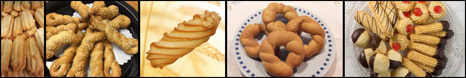 Traditional Cookies & Biscuits with Manual Cookies Makers